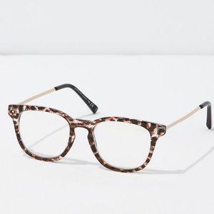 NWT Tortoise blue light glasses